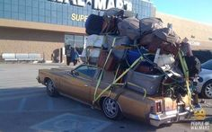 Meanwhile, in a Walmart parking lot (24 Photos)