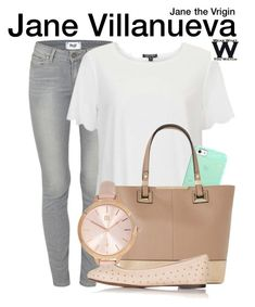 """Jane the Virgin"" by wearwhatyouwatch ❤ liked on Polyvore featuring Paige Denim, Topshop, Casetify, Dune, River Island, women's clothing, women, female, woman and misses"