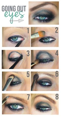 EASY Eye Makeup Tutorial! More of an evening look for me