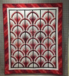 Clamshell, Quiltworx.com, Made by CI Josephine Keasler