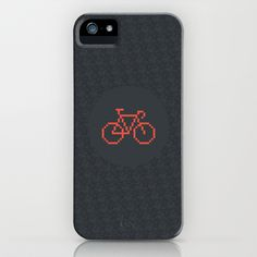 Pixelbike iPhone & iPod Case Ipod, Iphone Cases, Ipods, Iphone Case, I Phone Cases