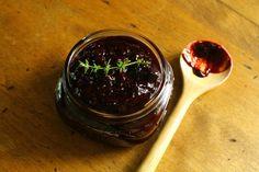 ::: blueberry-lemon-thyme jam (with cinnamon and nutmeg) :::