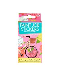 Paint Job Bike Decoration Sticker