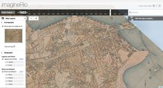 """ImagineRio   A Rice University mapping project seeks to illustrate """"the social and urban evolution"""" of the city since its birth."""