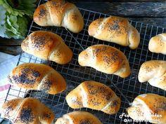 Horn med ost og skinke - Fra mitt kjøkken Horns, Food And Drink, Recipes, Prom Dresses, Tips, Party, Baguette, Horn