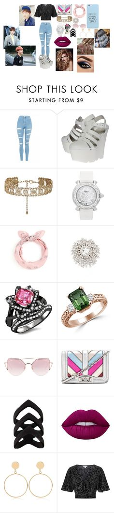 """""""Boo Seungkwan Seventeen"""" by btsloveforlife on Polyvore featuring Topshop, Kurt Geiger, New Look, Chopard, Cristabelle, LMNT, Rebecca Minkoff, Lime Crime, WithChic and Urban Decay"""
