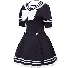Partiss Women's Great Black Sailor Cotton School Lolita Dress XXL Black Partiss http://www.amazon.com/dp/B01DBSISJW/ref=cm_sw_r_pi_dp_6Gi.wb0RZYS9E