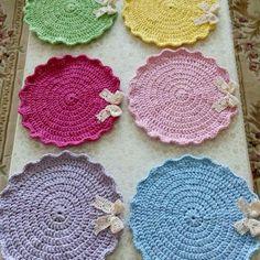 Crochet Earrings, Dish, Jewelry, Fashion, Moda, Jewlery, Jewerly, Fashion Styles, Schmuck