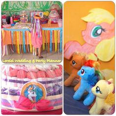 "Festa a tema "" My Little Pony"""