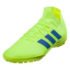 huge discount 8ff46 8ff18 adidas Nemeziz Tango 18.3 TF Soccer Shoes Solar Yellow Blue Red-10 Soccer