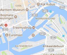 Erasmusbrug Rotterdam - Nieuwbouw Architectuur Rotterdam