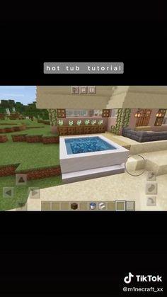 Photo Minecraft, Plans Minecraft, Easy Minecraft Houses, Minecraft House Tutorials, Minecraft Room, Minecraft Tutorial, Minecraft Blueprints, Minecraft Creations, Minecraft Crafts
