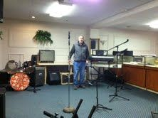 PV's Chateau basement rehearsal hall.