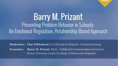 Video of the Week: Preventing Problem Behavior in Schools by Dr. Behavior Management Strategies, Classroom Behavior Management, Teaching Strategies, Speech Language Therapy, Speech And Language, Positive Behavior Support, Mental Health Therapy, Relationship Bases, Emotional Regulation