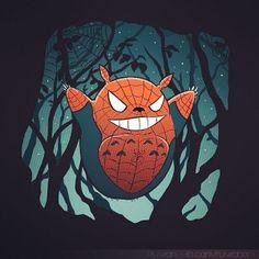 Spider-Totoro