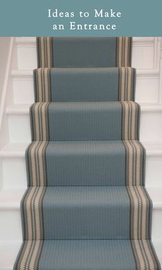 Best Carpet Runners For Stairs Carpet Staircase, Modern Staircase, Staircase Design, Spiral Staircases, Traditional Staircase, Victorian Stairs, Victorian Terrace, Victorian Homes, Foyers