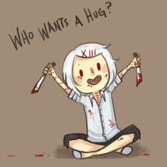 me,,, pick me,,!! hug me Juuzou!! #Tokyo Ghoul