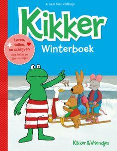 Lezen met Haas, knutselen met Rat, koken met Varkentje en tekenles met Kikker. Dit en veel meer, kunnen kleuters doen met het kikkerwinterboek. samen met Kikker en zijn vriendjes kunnen kleuters puzzelen, lezen, tellen, schrijven en kleuren.