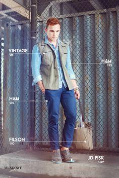 Mens fashion blogger Justin Livingston of Munrowe