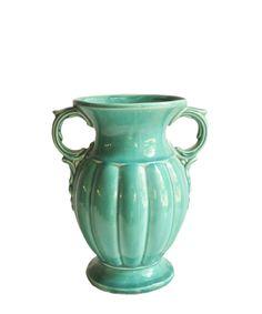 Vintage Turquoise McCoy Vase