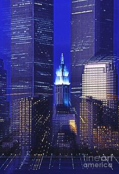 ✯ Twin Towers and Woolworth - New York