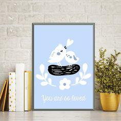 Affiche enfant, Affiche oiseaux, Affiche citation, Décoration chambre d'enfant, Décoration chambre de bébé, Cadeau enfant, Cadeau bébé par MonRosePompon sur Etsy https://www.etsy.com/fr/listing/523298329/affiche-enfant-affiche-oiseaux-affiche