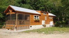 Green River Cabin, Tiny Home.  #TinyHouseforUs