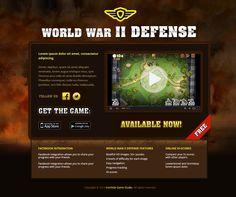 World War II Defense IOS game on Behance