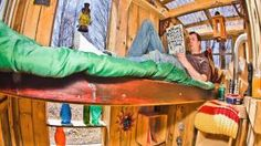 "Micro-tiny homes as freedom from codes & loans by Kirsten Dirksen 1 year ago 341,141 views Derek ""Deek"" Diedricksen's backyard is filled with what to the untrained eye might appear children's forts, but these tiny dwellings ..."