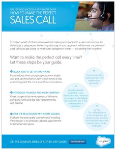 Selling on the Phone: How to Make a Cold Call by Salesforce via slideshare
