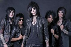 black viel brides | Interview with Andy Six from Black Veil Brides: Keeping Secrets