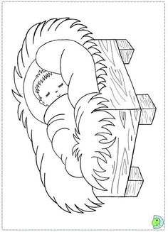 coloring pages of christmas manger scene - Saferbrowser Yahoo Image Search Results Christmas Manger, Preschool Christmas, Christmas Crafts For Kids, Christmas Colors, Kids Christmas, Nativity Coloring Pages, Bible Coloring Pages, Christmas Coloring Pages, Coloring Books