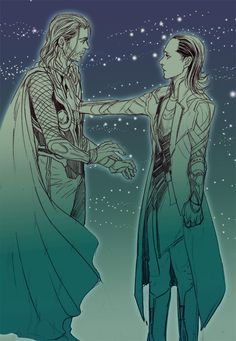 Thor and Loki edit - 18/6 2015 i think i finally found the source *phew* his…