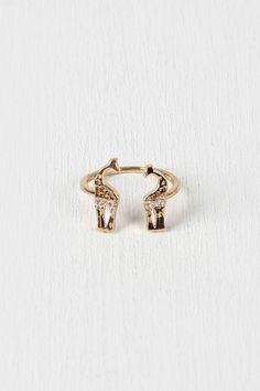 Giraffe Crossing Ring