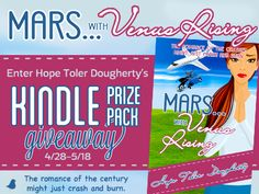 Hope Toler Dougherty's 'Mars . . . with Venus Rising' Kindle Prize Pack Giveaway