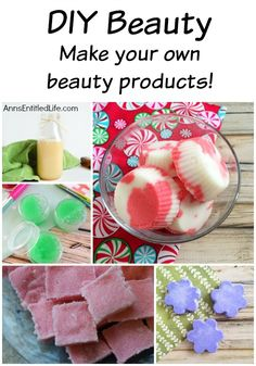 Easy DIY Beauty. Beauty Products you can make at home! Easy, homemade beauty products. How to make your own all nature, beauty products for skin care, facial, and body care. Tutorials on AnnsEntitledLife.com