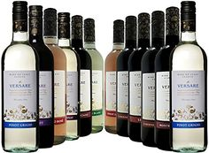 Versare Italian Mixed Case - 12 x 750ml Easy Drinking Italian Wine. Carefully selected from the Versare Winemakers range by Fine Wine Sellers Red, White and Rose 2 x Versare Cabernet Sauvignon 2 x Verare Montel (Barcode EAN = 5060405301503) http://www.comparestoreprices.co.uk/december-2016-6/versare-italian-mixed-case--12-x-750ml.asp