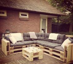 Projekty, Ogród zaprojektowane przez Meubelen van pallets - homify / Meubelen van pallets