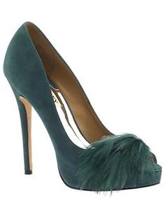 I love these Badgley Mischka heels.