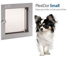 PlexiDor Performance Pet Door Wall Mount -- See this great product. (This is an affiliate link and I receive a commission for the sales)