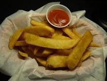 Side French Fries from Pico Pica Rico Restaurant in Los Angeles #Food #FrenchFry #Restaurant forked.com