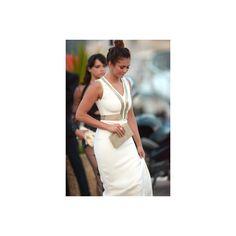 Celebrity Sighting On French Riviera (July 22) - 056 - Beautiful Nina... ❤ liked on Polyvore