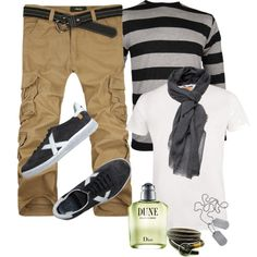 Guys Street Style by marta-cercols on Polyvore