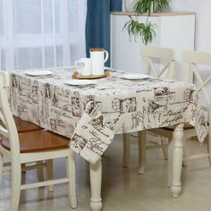 New Design Cotton & Linen Table Cloth Dining Cloth Cover Table Cloth High Quality Free Ship #Affiliate