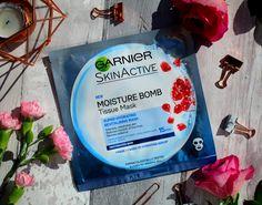 NEW POST ALERT : Garnier Moisture Bomb Tissue Mask Review