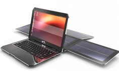 The world's first sport utility laptop is fully solar-powered and runs Linux. Think: An Otterbox protected laptop, minus the cords. Solar Energy Panels, Best Solar Panels, Solar Solutions, Solar Roof Tiles, Cool Electronics, Solar Charger, Solar Energy System, Alternative Energy, Renewable Energy