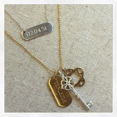 Finding joy in helping friends with great gifts for their loved ones with @stelladot engravables!  This one tells my story, an engravable bar with my dads birthday, an ID tag with my design company name, a key to represent real estate and the K clover initial charm.  Who on your list would love such a personalized gift to cherish?  Let me help you order today!  #sdjoy #sdstyle #santa #realtor #tellyourstory #gifts #tistheseason