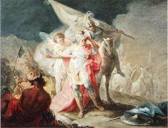 Goya, Hannibal de veroveraar die Italië voor het eerst vanaf de Alpen ziet, 1771
