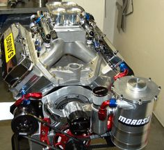 615 CU. IN. 14.5 PONTIAC 1X4 PRO STREET PUMP GAS ENGINE (1000hp) - Sonny's Racing Engines & Components