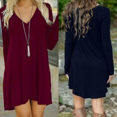 Long Sleeve Evening Party Cocktail Short Mini Dress